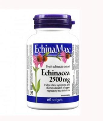 Echinamax 2500 mg 60 softgels Webber Naturals / Ехинамакс 2500 мг 60 софтгел капсули Уебър Натуралс
