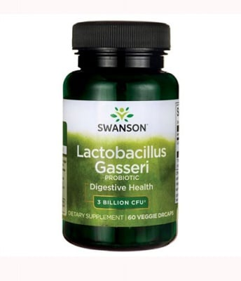 Swanson probiotic lactobacillus gasseri 60 capsules / Суонсън пробиотик лактобацилус гасери 60 капсули
