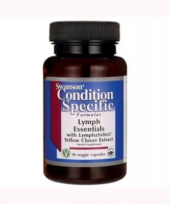 Swanson condition specific formulas lymph essential 30 capsules / Суонсън Лимфни основи 30 капсули