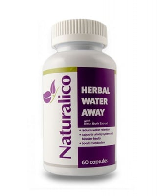 Naturalico Herbal water away 60 capsules / Натуралико Хербал уотър ауей 60 капсули