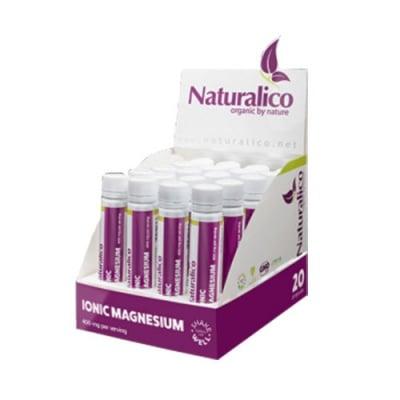 Naturalico Ionic magnesium with stevia 25 ml 20 vials / Натуралико Йонен магнезий със стевия 25 мл 20 флакона