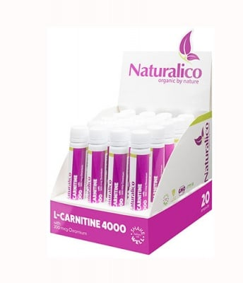 Naturalico L-carnitine 25 ml 20 vial / Натуралико L- карнитин 25 мл 20 флакона