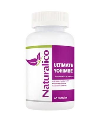 Naturalico Ultimate Yohimbe 60 capsules / Натуралико Йохимбе ултимат 60 капсули