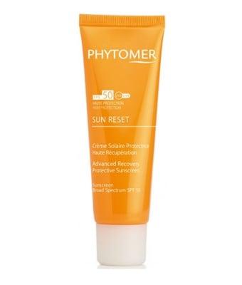 Phytomer Sun reset sunscreen broad spectrum SPF 50 cream 50 ml / Фитомер Слънцезащитен и укрепжащ крем SPF 50 50 мл