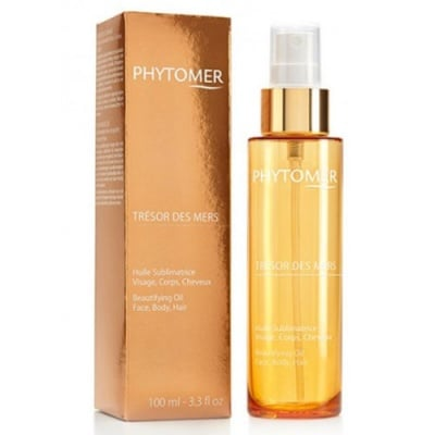 Phytomer Tresor des mers beautifying oil for face, body, and hair 100 ml / Фитомер Масло морско съкровище за лице, коса и тяло 100 мл
