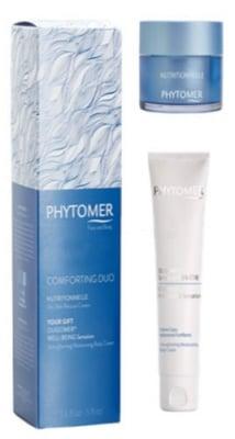 Phytomer Comforting duo set / Фитомер Комплект подхранващо дуо - крем нутрисионел SOS за суха кожа 50 мл + олигомер подсилващ овлажняващ крем за тяло 150 мл