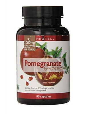 Pomegranate extract 1000 mg 90 capsules Neocell USA / Екстракт от нар 1000 мг 90 капсули Neocell USA