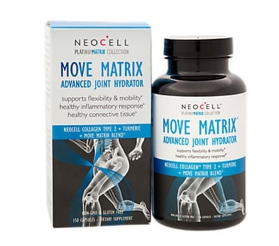 Collagen type 2 move matrix advanced joint hydrator 150 capsules Neocell USA / Колаген тип 2 муув матрикс 150 капсули Neocell USA