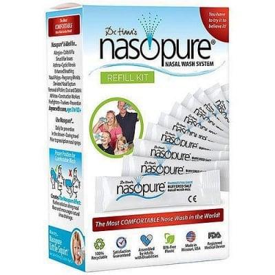 Nasopure refill kit sachetes 40 pcs / Назопюр комплект сашета за носни промивки 40 бр.