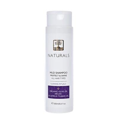 Bioselect naturals mild shampoo protect and shine 250 ml / Биоселект натуралс шампоан за блясък и защита на цвета 250 мл