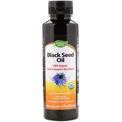 Black seed oil 235 ml liquid Nature`s Way / Масло от черен кимион течно 235 мл Nature`s Way