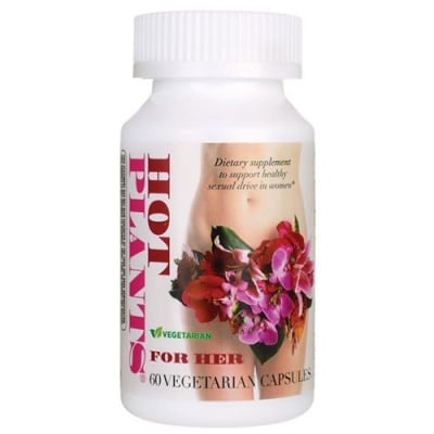 Hot plants for her 60 capsules Nature's Way / Хот плантс за жени 60 капсули Nature's Way