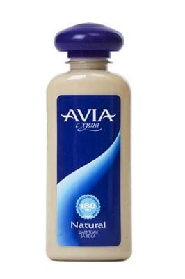 Avia natural shampoo 180 ml / Авиа шампоан с хума natural 180 мл