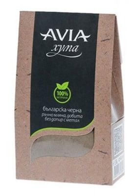 Avia black clay dust 250 g / Авиа хума черна на прах 250 гр.
