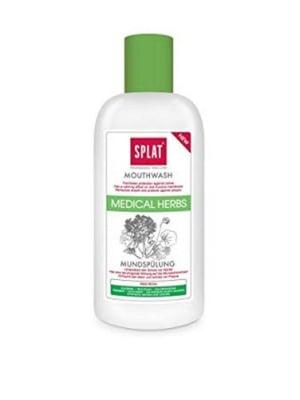 Mouthwash Splat medical herbs 275 ml / Вода за уста Сплат лечебни билки 275 мл