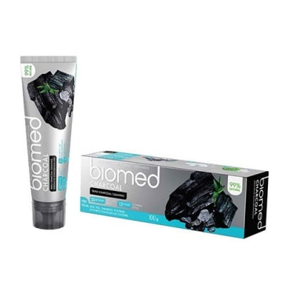 Biomed Charcoal toothpaste 100 g / Паста за зъби Биомед с активен въглен 100 гр.