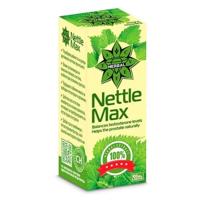 Nettle Max liquid formula 100 ml Cvetita Herbal / Коприва макс течна формула 100 мл Цветита Хербал