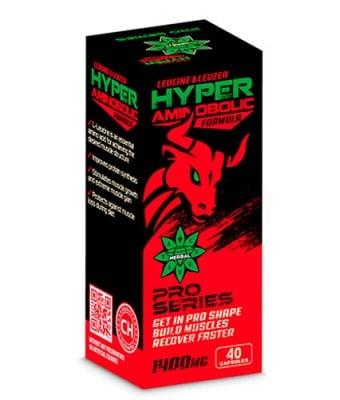 Hyper aminobolic formula 40 capsules Cvetita Herbal / Хипер аминоболик 40 капсули Цветита Хербал