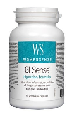 Gi sense digestion formula 616 mg 90 capsules Natural Factors / Ги сенс храносмилателна формула 616 мг 90 капсули Натурал Факторс