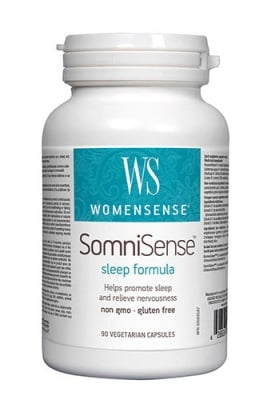 Somnisense sleep formula womensense 312 mg 90 capsules Natural Factors / Сомнисенс слийп формула уомансенс 312 мг 90 капсули Натурал Факторс