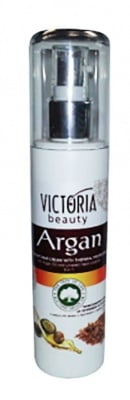 Victoria beauty thermal protection hair cream with argan oil and linseed liquid crystals 150 ml. / Виктория бюти крем за термична защита на косата с масло от арган и кристали с ленено семе 150 мл.