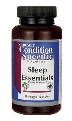 Swanson Codition specific formulas sleep essentials 60 capsules / Суонсън Супер формула за сън 60 капсули
