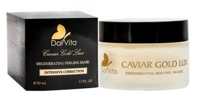 Dalvita Caviar Gold Lux Regenerating peeling mask 50 ml / Далвита Пилинг маска за лице с тонизиращ и ревитализиращ ефект 50 мл.