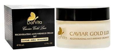 Dalvita Caviar Gold Lux Regenerating Anti-wrinkle cream 24/7 50 ml / Далвита Дневен крем за лице против бръчки с хайвер 24/7 50 мл.