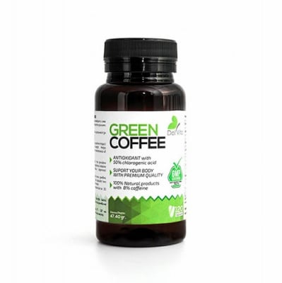 Dalvita Green coffee 120 capsules / Далвита Зелено кафе 120 капсули