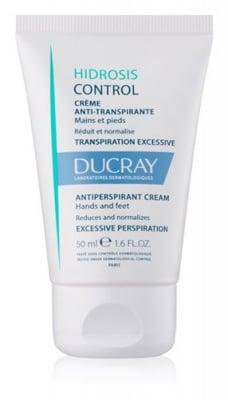 Ducray Hidrosis control antiperspirant cream 50 ml / Дюкре Хидрозис контрол крем против изпотяване за ръце и крака 50 мл