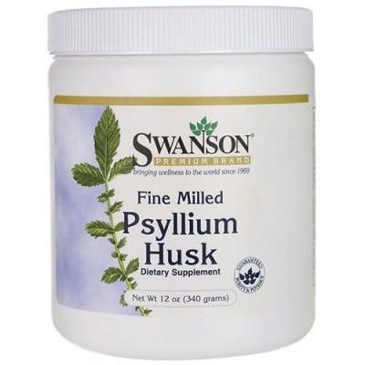 Swanson Fine milled psyllium husk powder 340 g / Суонсън Хуск псилиум 340 г