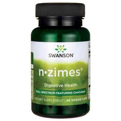 Swanson Full spectrum N-zimes 90 capsules / Суонсън Пълен спектър ензими 90 капсули