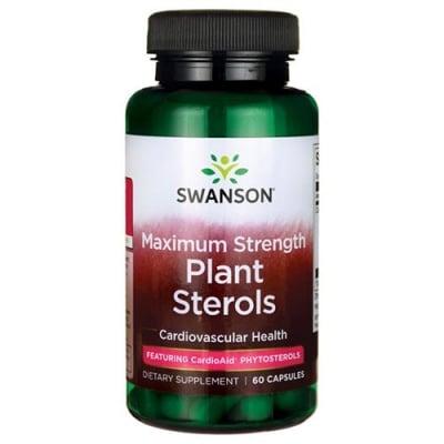 Swanson Maximum strength plant sterols cardio AID 60 capsules / Суонсън Максимално силни растителни стероли 60 капсули
