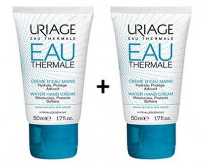 Uriage eau thermal water hand cream 2 pcs / Уриаж термал крем за ръце 50 мл 2 бр.