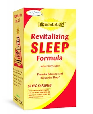 Revitalizing sleep formula 30 capsules Enzymatic therapy / Слийп ревитализираща формула 30 капсули Ензиматик терапи