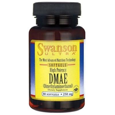 Swanson Ultra high potency dimethylaminoathanol 250 mg 30 capsules / Суонсън Мощен диметиламиноетанол 250 мг 30 капсули