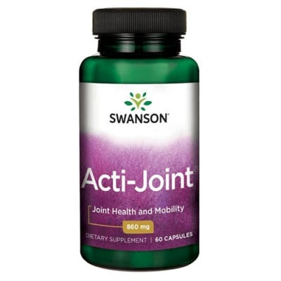 Swanson Ultra acti joint 860 mg 60 capsules / Суонсън Акти джойнт 860 мг 60 капсули