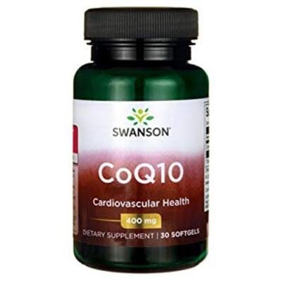Swanson CoQ10 400 mg 30 softgels / Суонсън Коензим Q10 400 мг 30 капсули