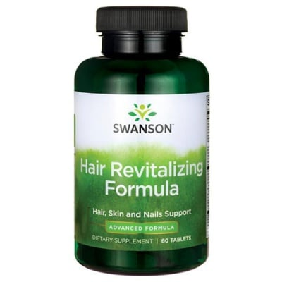 Swanson Hair revitalizing formula 60 tablets / Суонсън Ревитализираща формула за коса 60 таблетки