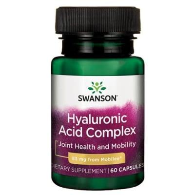 Swanson Hyal-joint hyaluronic acid complex 60 capsules / Суонсън Комплекс от хиалуронова киселина за стави 60 капсули