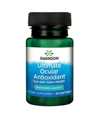 Swanson Ultimate ocular antioxidant 30 softgels / Суонсън Ултимат антиоксидант за очи 30 капсули