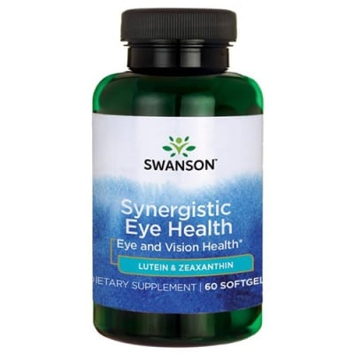 Swanson Ultra standardized eye formula lutein and zeaxanthin 60 softgels / Суонсън Формула за очи с  лутеин и зеаксантин 60 капсули