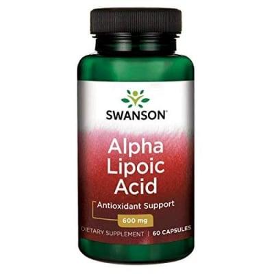 Swanson Alpha lipoic acid 600 mg 60 capsules / Суонсън Алфа липоева киселина 600 мг 60 капсули