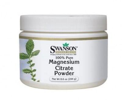 Swanson Magnesium citrate powder 227 g / Суонсън Магнесиев цитрат прах 227 гр
