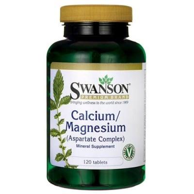 Swanson Calcium / Magnesium (aspartate complex) 120 tablets /  Суонсън Калций / магнезий (аспартат комплекс) 120 таблетки