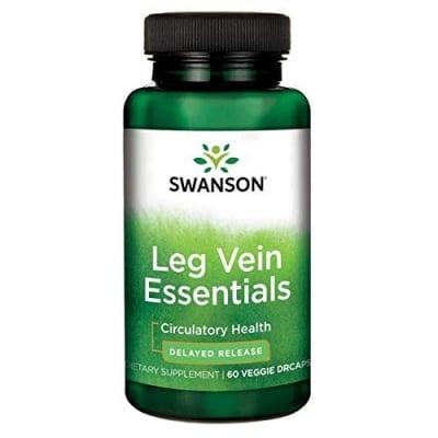 Swanson Leg veins essentials 60 capsules / Суонсън Добавка за вените на краката 60 капсули