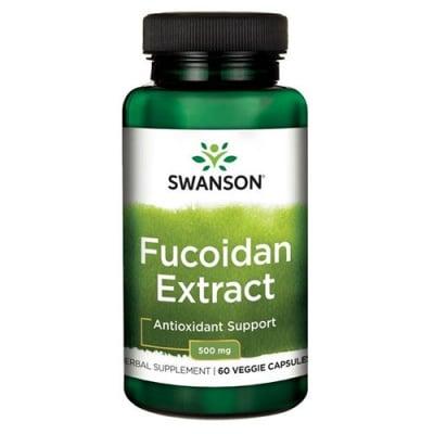 Swanson Fucoidan extract 500 mg 60 capsules / Суонсън Екстракт от кафяви водорасли 500 мг 60 капсули