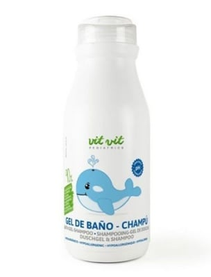 Vit vit pediatrics shampoo - shower gel 300 ml / Вит вит педиатрикс 2 в 1 шампоан и душ-гел 300 мл