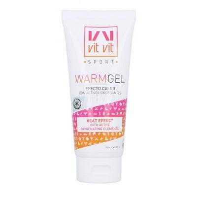 Vit vit sport warm gel with active oxygenating elements 100 ml / Вит вит спорт загряващ гел за тяло с  окислителни елементи 100 мл