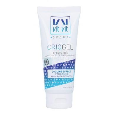 Vit vit sport crio gel with ginseng & arnica extract 100 ml / Вит вит спорт охлаждащ гел за тяло с  екстракт от арника и женшен 100 мл